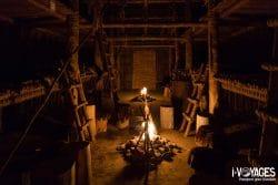Au Québec, j'ai dormi dans une maison traditionnelle des Hurons-Wendat