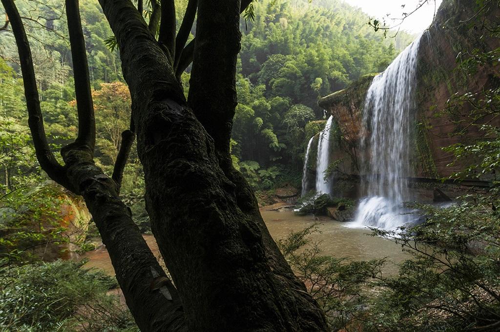 arc Geologique National de Danxia, site de Sidonggou