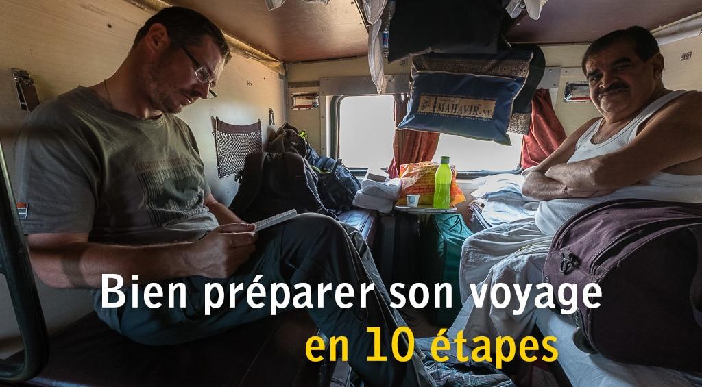 Bien préparer son voyage en 10 étapes
