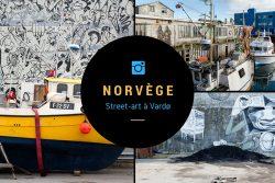 Street-art à Vardø aux confins de la Laponie norvégienne