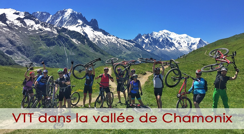 VTT dans la vallée de Chamonix