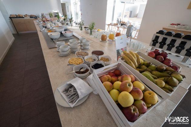 Buffet du petit-déjeuner du TUI Sensimar Torre Salinas