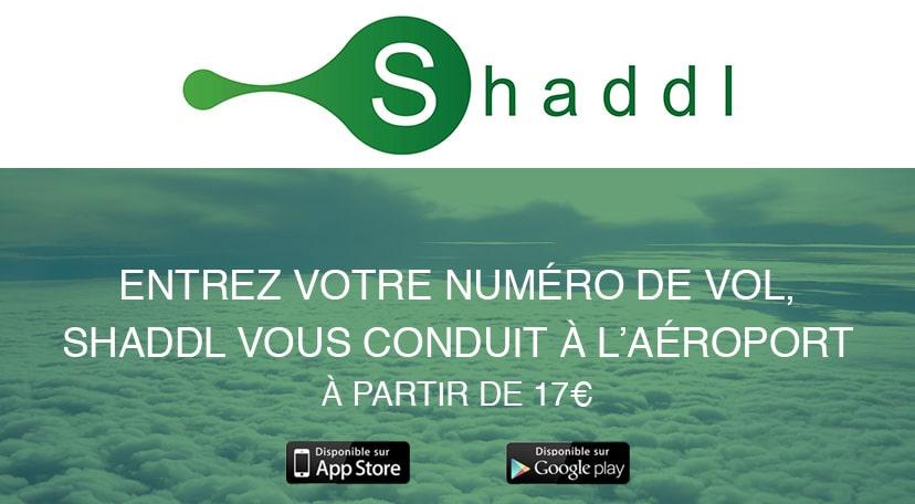 Shaddl : pour payer moins cher votre taxi vers les aéroports de Paris