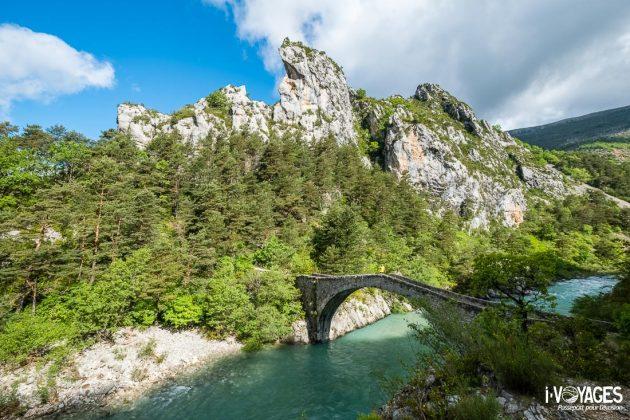 Pont Tusset, gorges du verdon