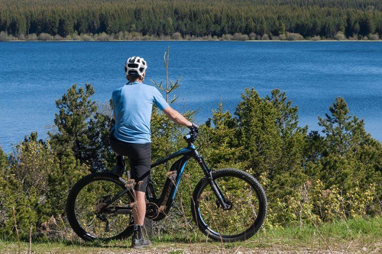 Le Lac de Charpal en vélo électrique