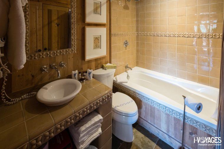 Salle de bain d'un Condo du village Windigo