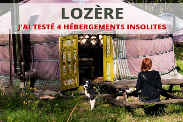 hébergements insolites en Lozère