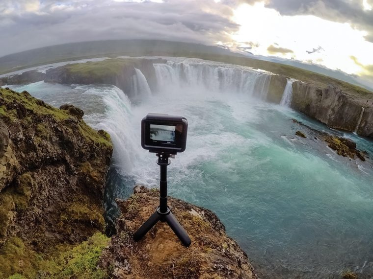 GoPro Hero6 et le nouveau trépied Shorty