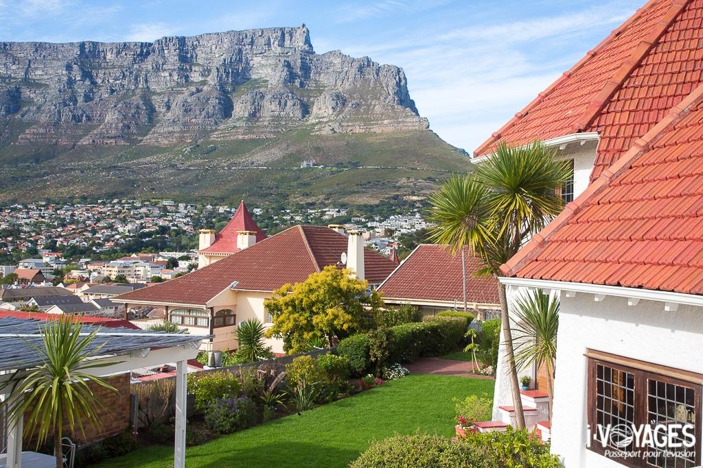 Vue sur la Table Mountain