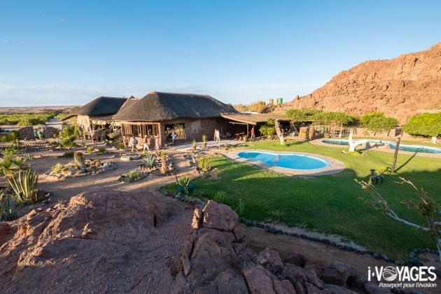 Damaraland, white lady lodge