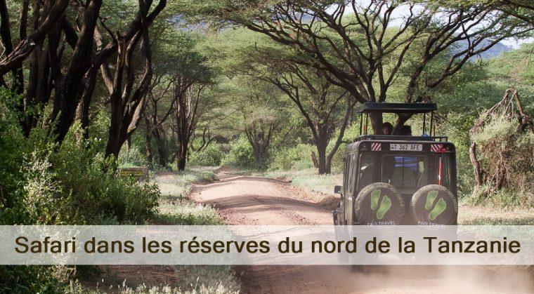 réserves du nord de la Tanzanie