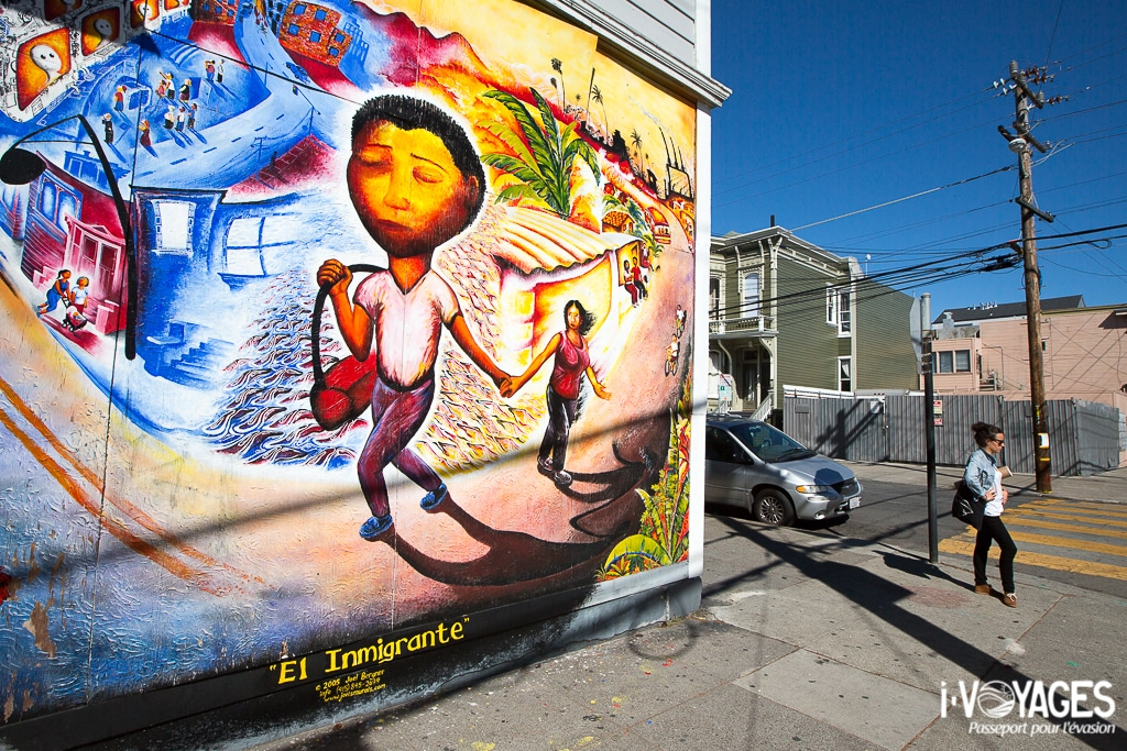 Street-art Mission District