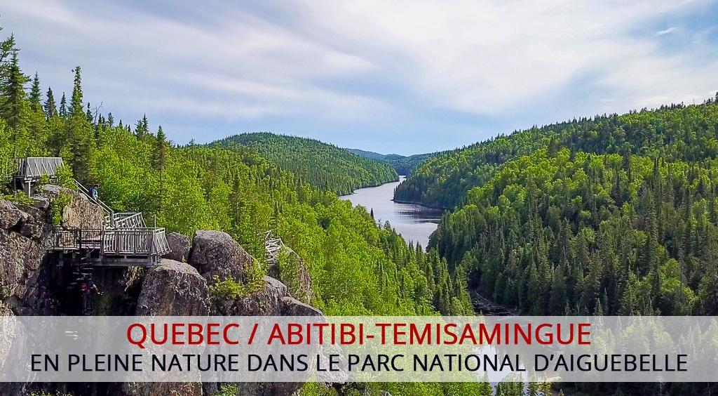 En pleine nature dans le parc national d'Aiguebelle