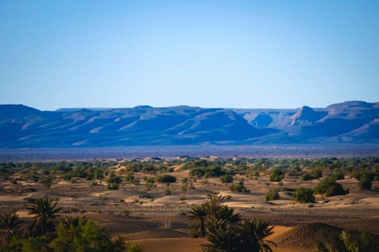 Vallée de Draa, Maroc