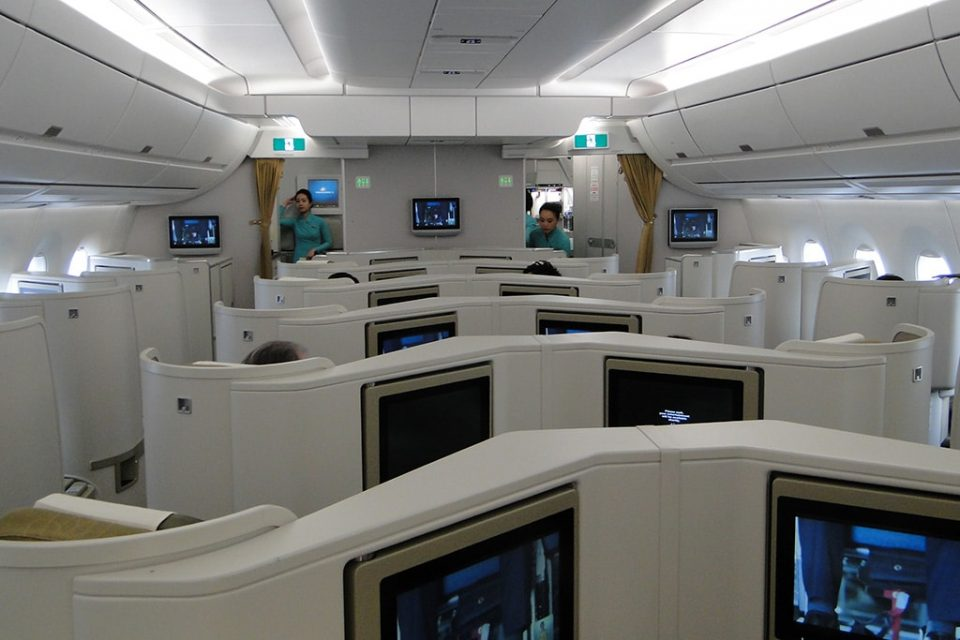 Business class vietnam Airlines