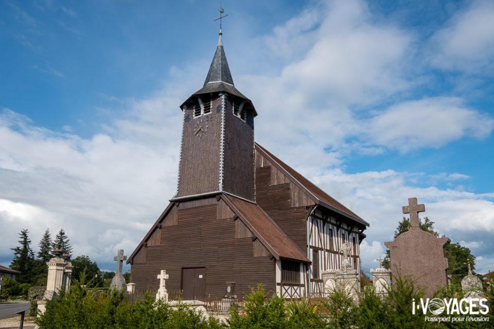 Eglise à pans de bois