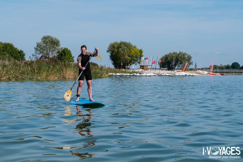 Paddle au lac du Der
