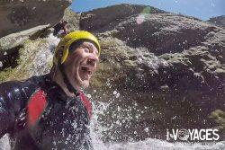 Canyoning : le barranco de Sant Pere en Catalogne