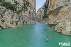 Kayak et randonnée à Congost de Mont-Rebei