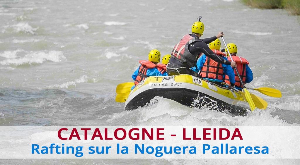 Rafting sur la Noguera Pallaresa en Catalogne