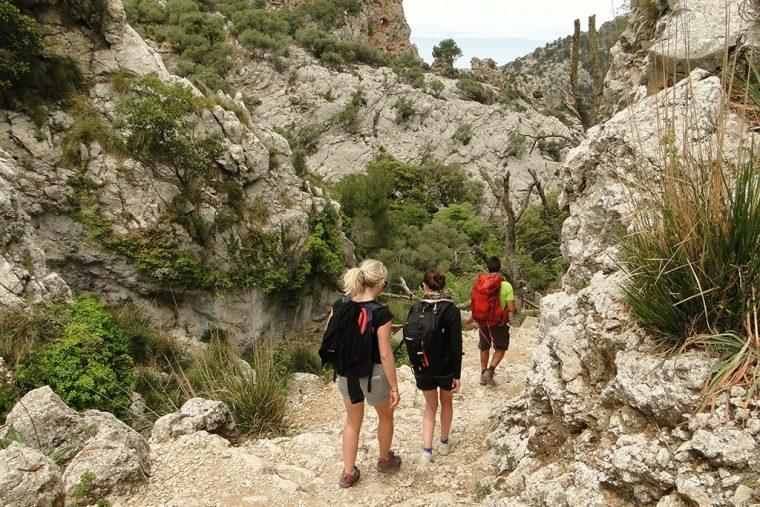 Randonnée à Majorque