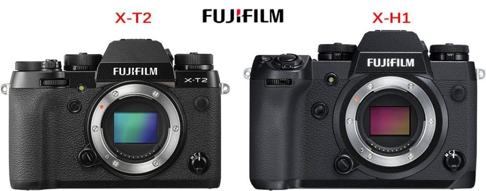 Fujifilm X-T2 et XH-1