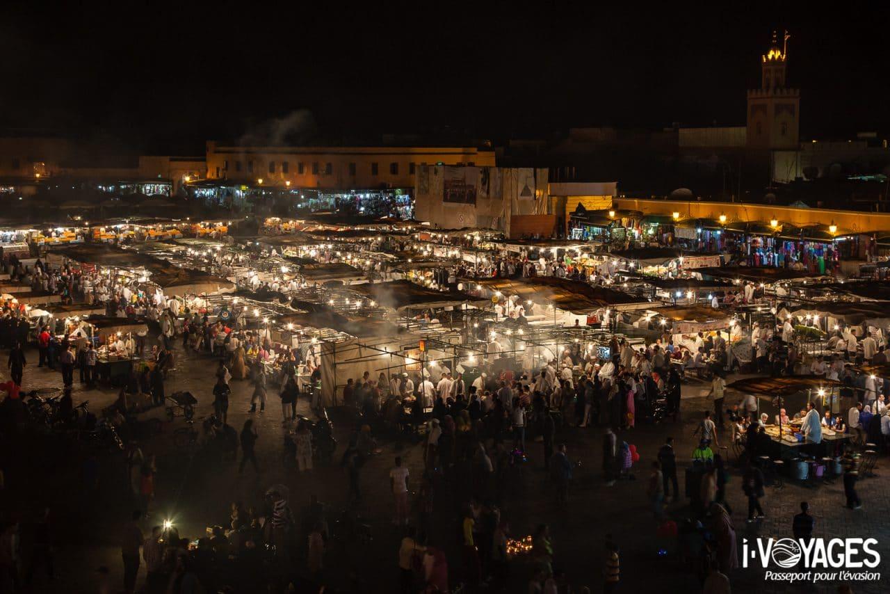 Place Jemaa-el-Fna, 5 expériences de food travel à vivre au Maroc