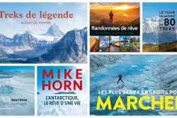 5 beaux livres de trek pour Noël