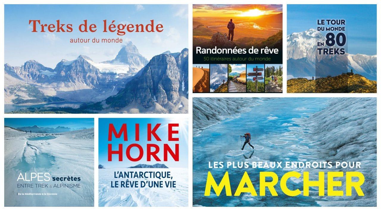 Les 5 plus beaux livres de trek pour Noël