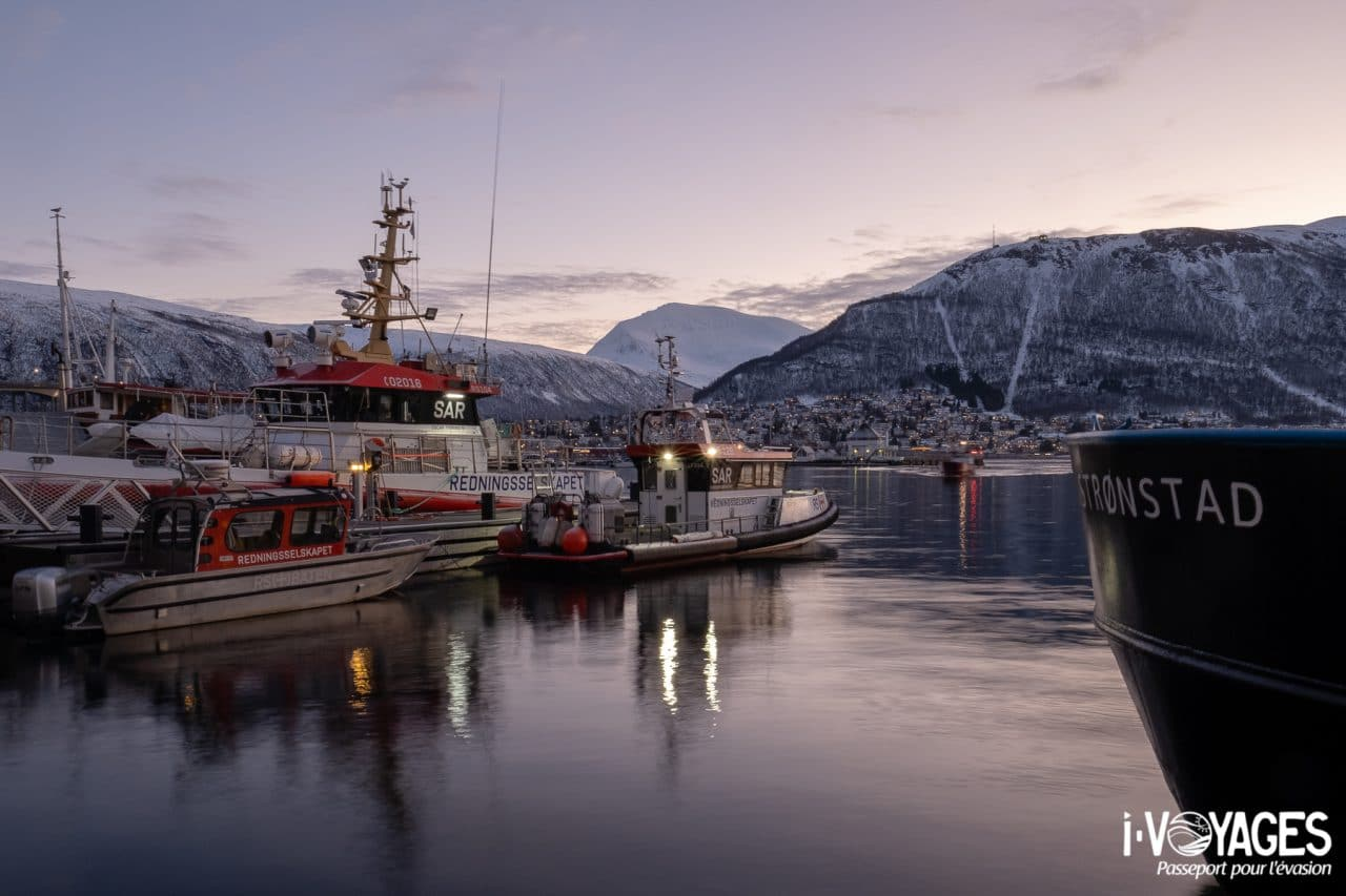Port de Tromso, photo prise avec l'objectif Fujinon XF 16 mm F 1.4 R WR