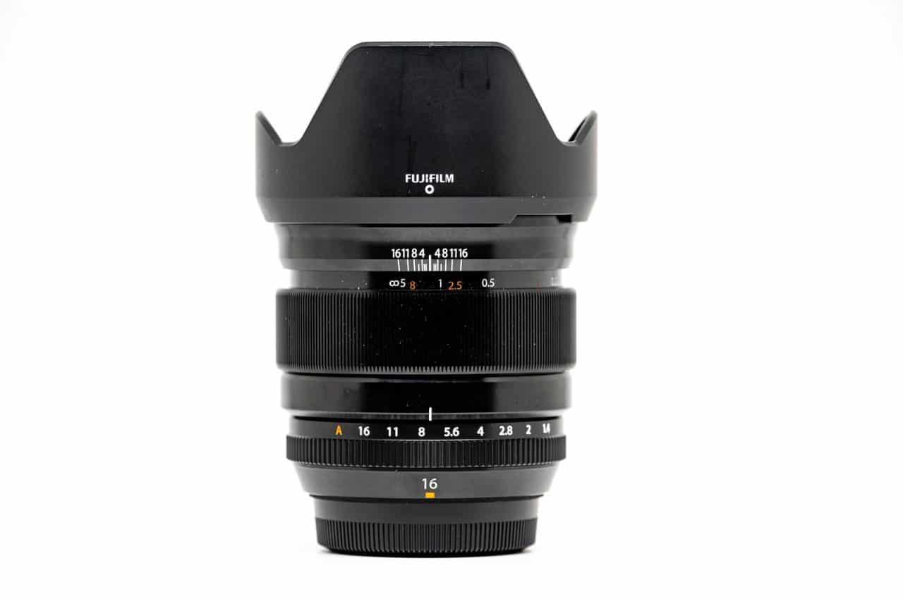 objectif Fujinon XF 16 mm F 1.4 R WR