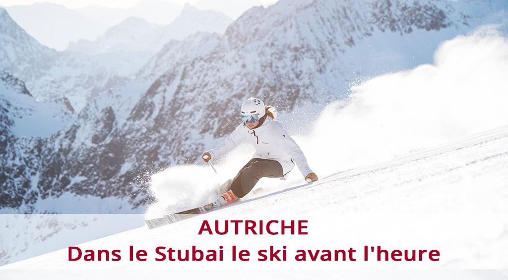 Autriche, dans le Stubai le ski avant l'heure