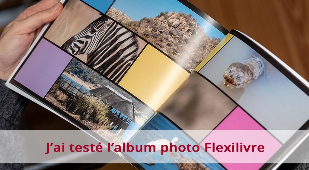 J'ai testé l'album photo Flexilivre