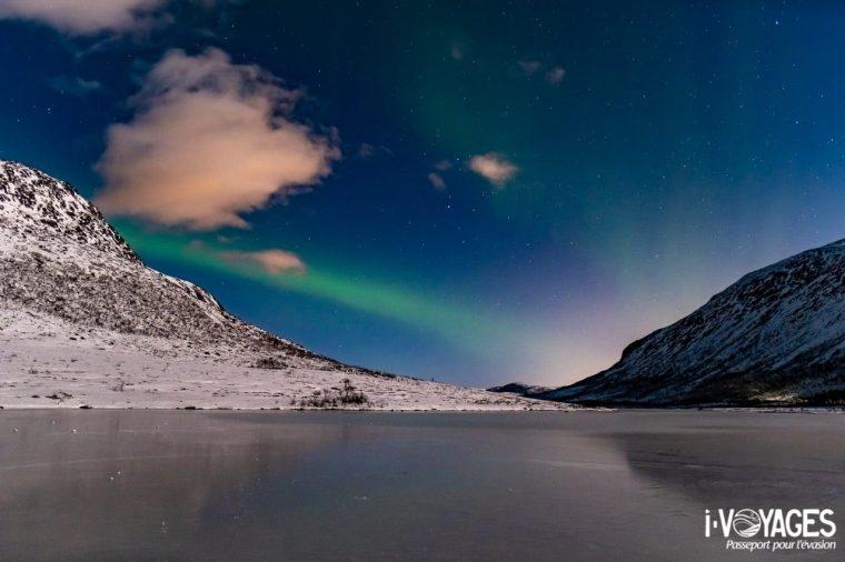 Aurore boréale, Kattfjordvatnet