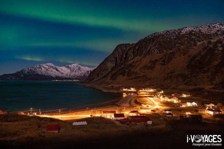 Aurores boréales à Tromso