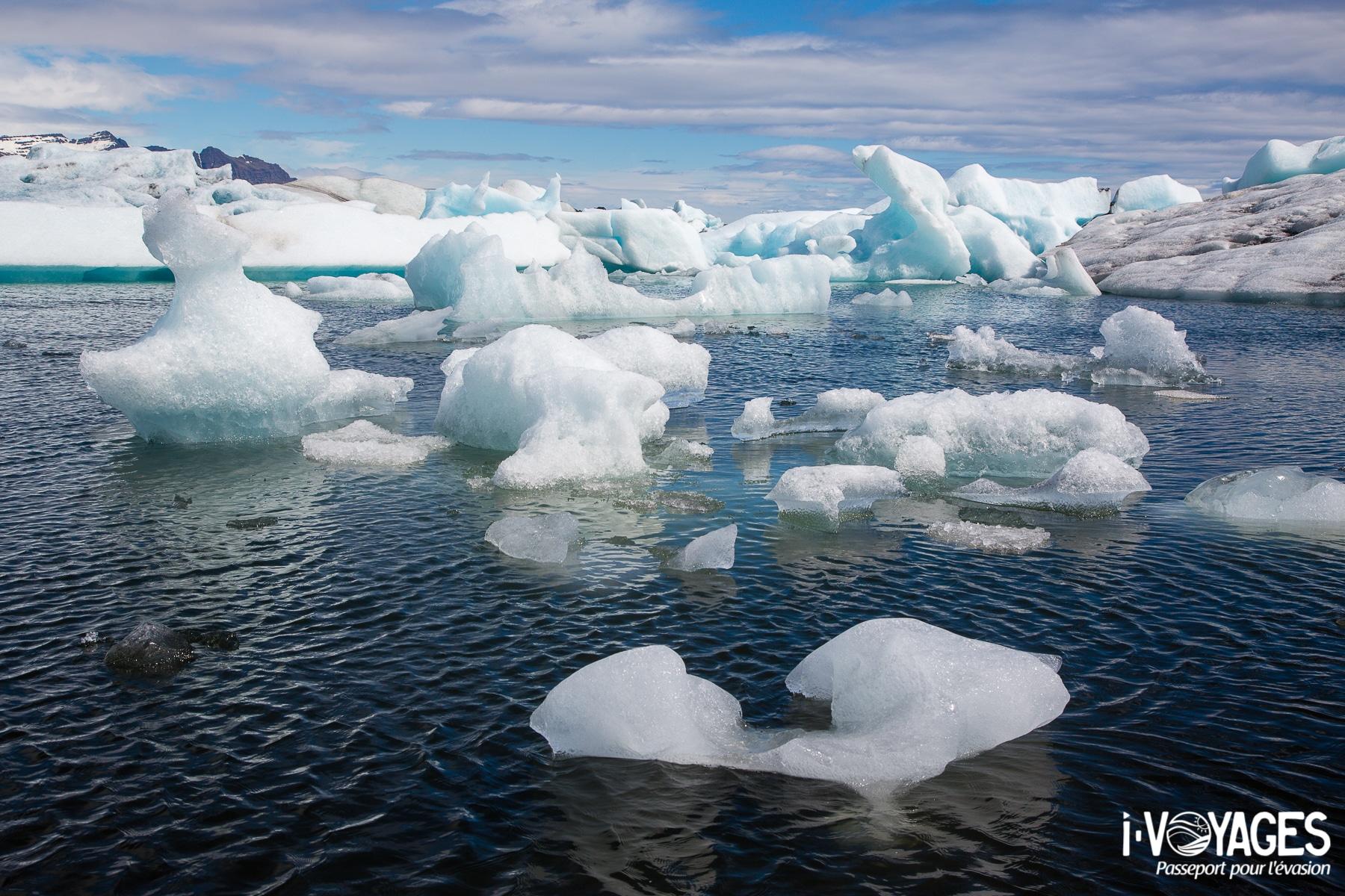 voir les icebergs de Jökulsárlón, l'une de mes 10 expériences à ne pas rater en Islande