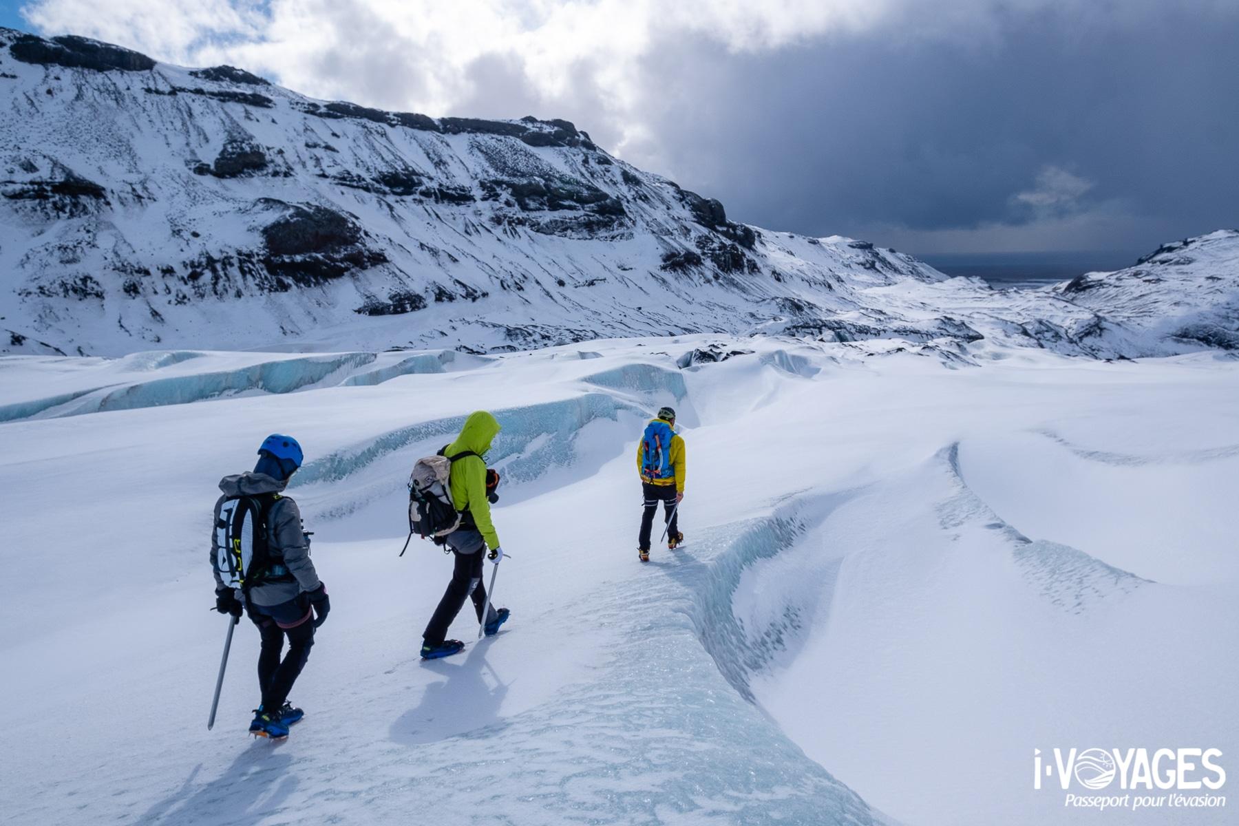 glacier Solheimajökull