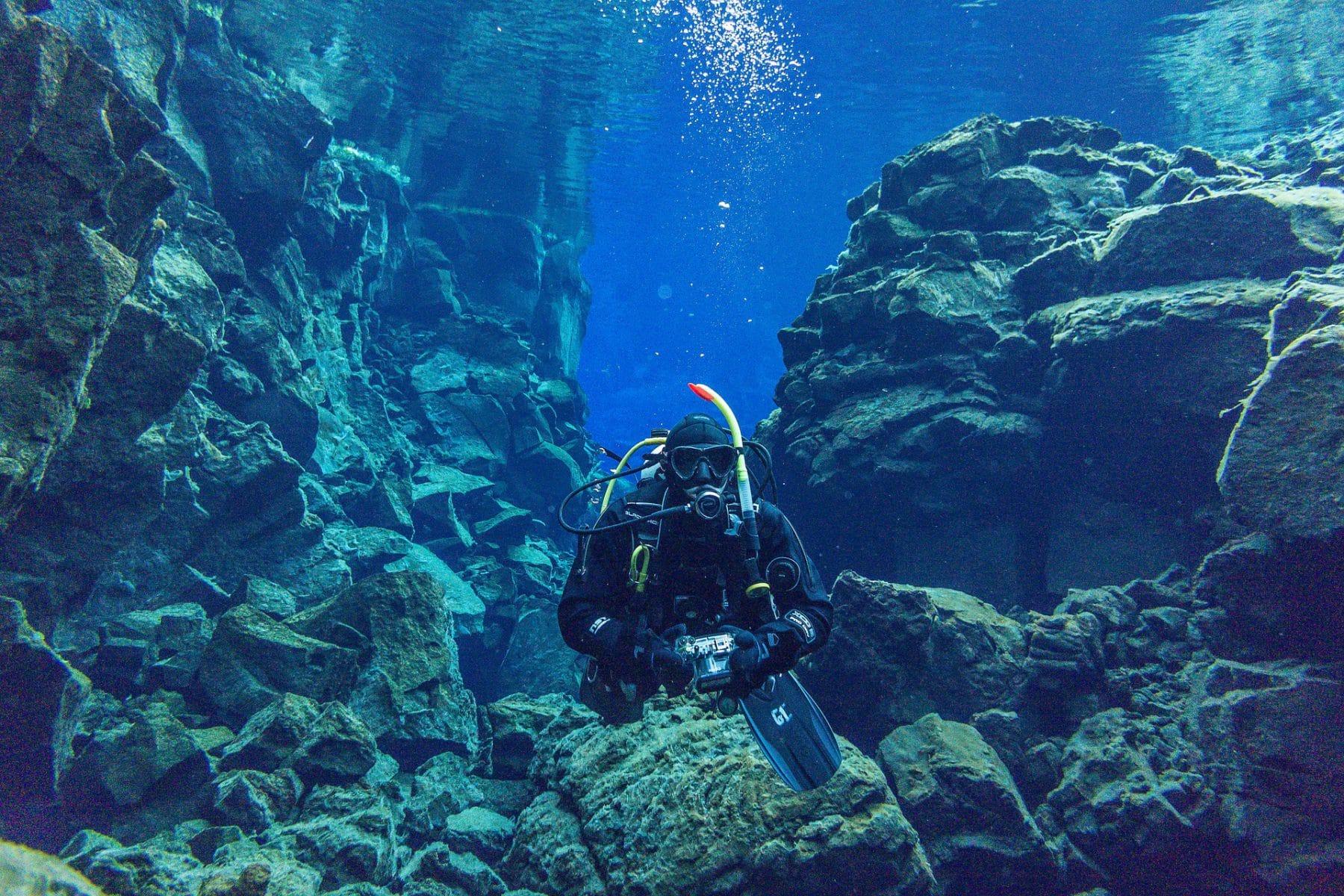 Snorkeling faille de Silfra