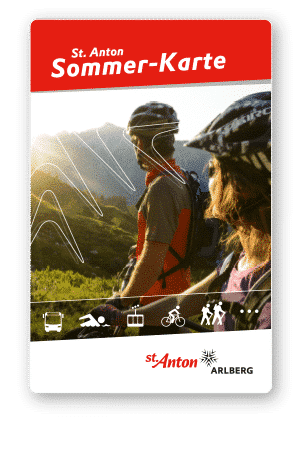 Summer Card, St.Anton Am Arlberg