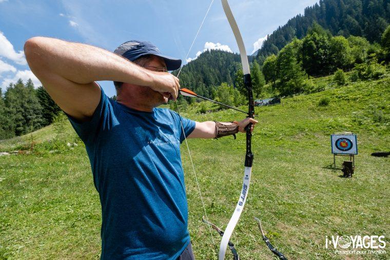 Tir à l'arc, St.Anton Am Arlberg