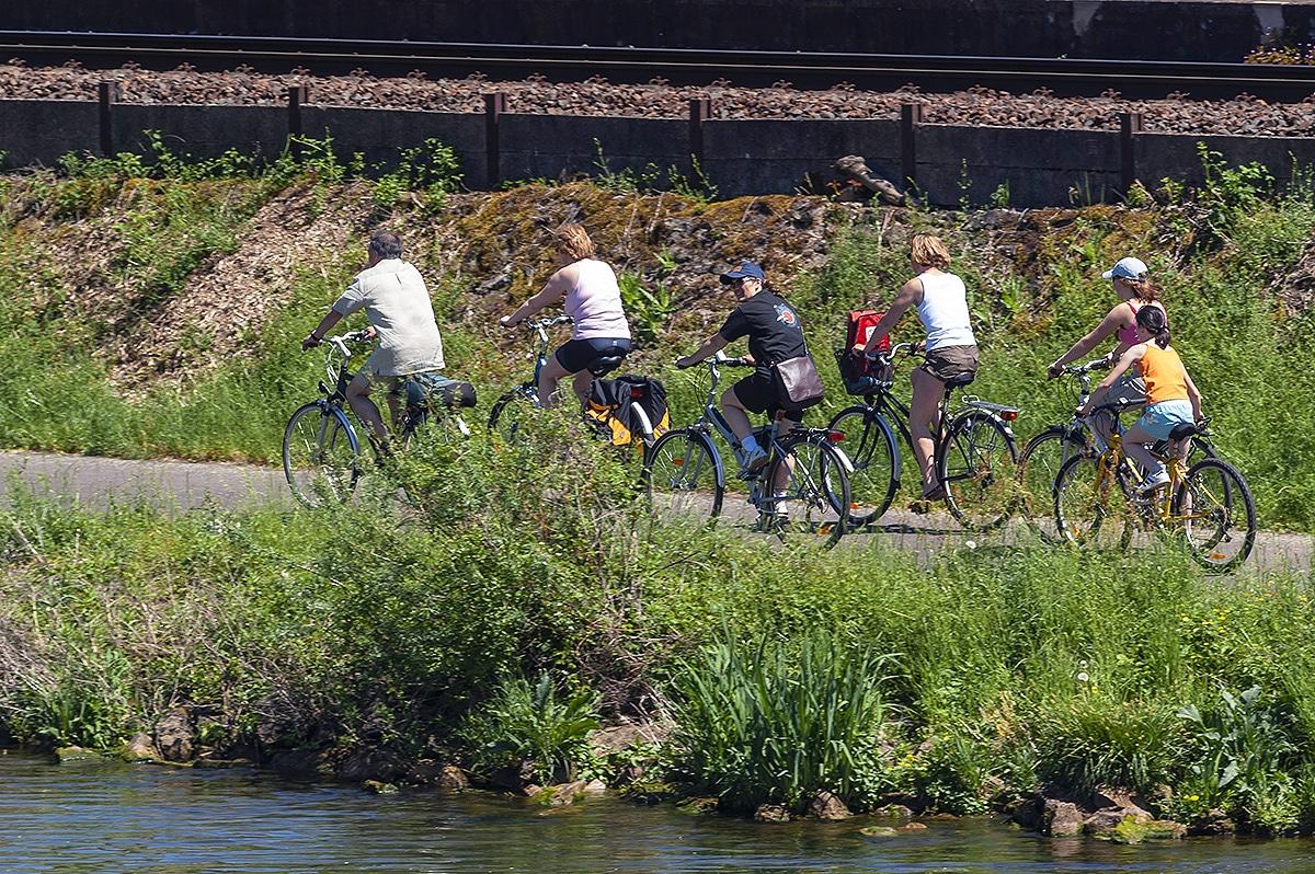 Country break au Luxembourg en faisant du vélo