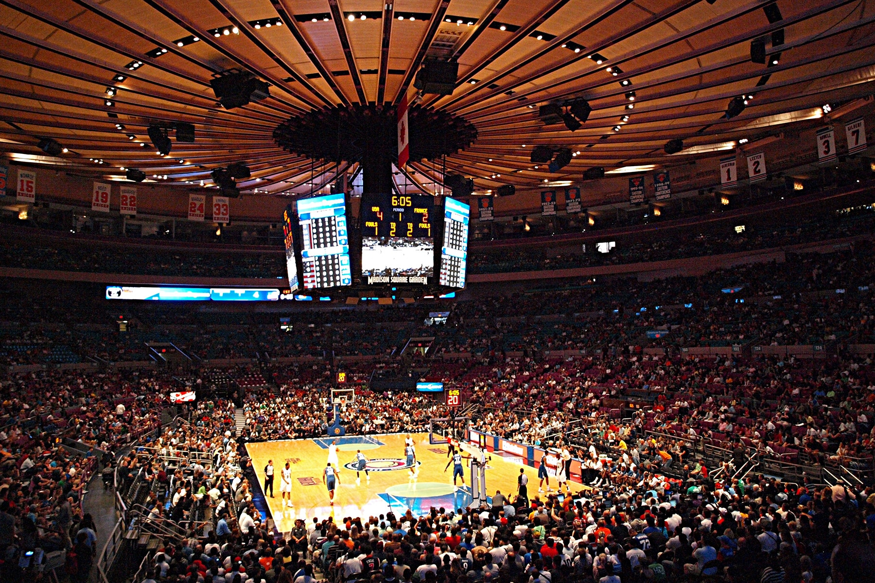 que faire à New York ? Match de NBA