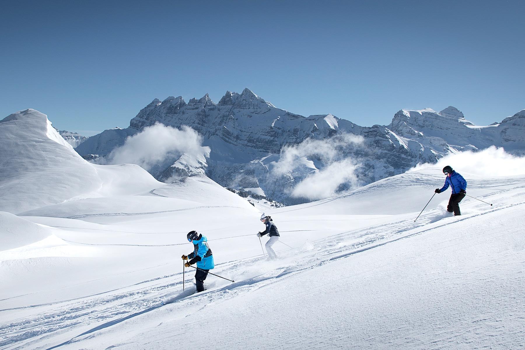 Les Portes du Soleil, 5stations de sports d'hiver françaises pour faire du grand ski
