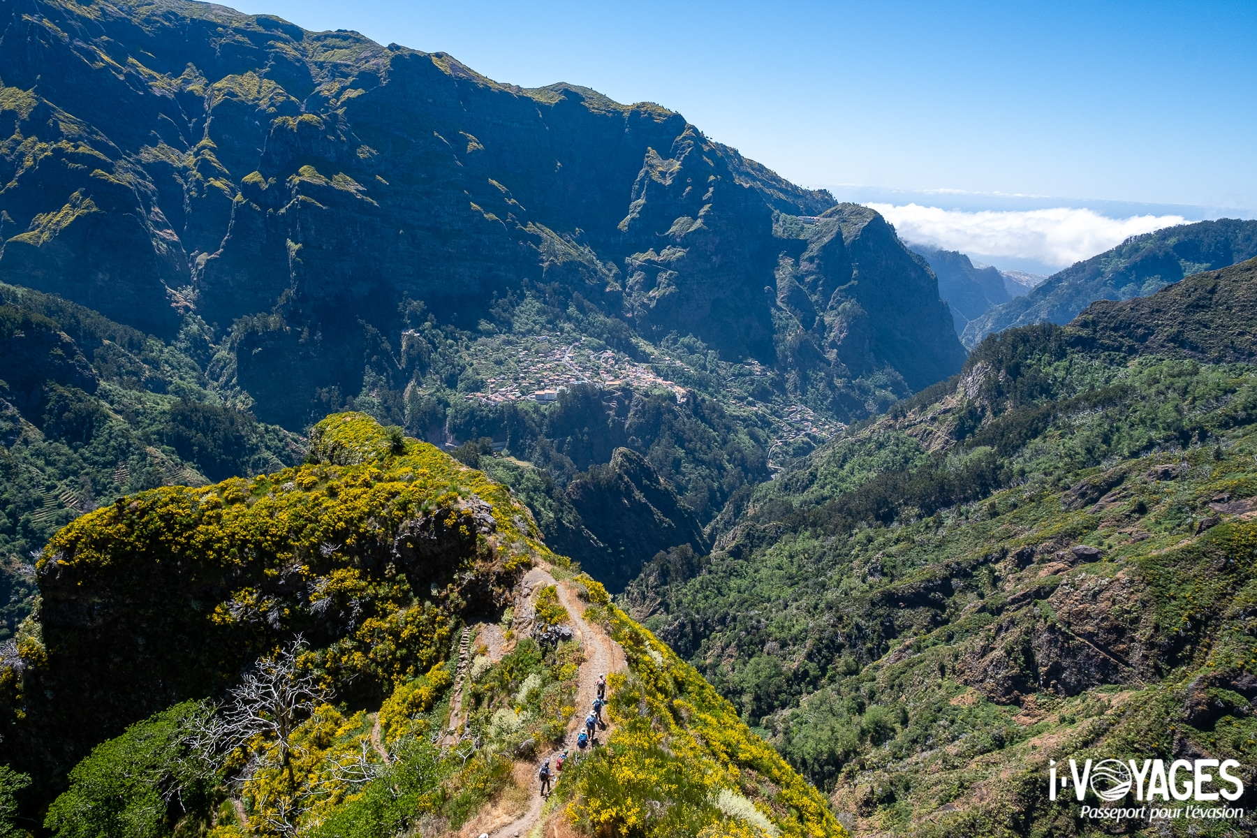 vallée de Curral das Freiras