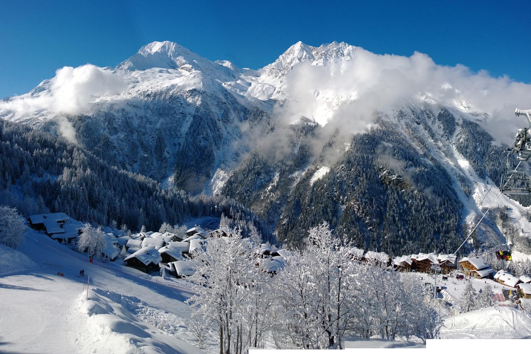 Sainte-Foy Tarentaise, 5stations de sports d'hiver françaises pour faire du grand ski