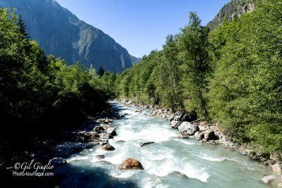 Rivière le Vénéon vers Venosc