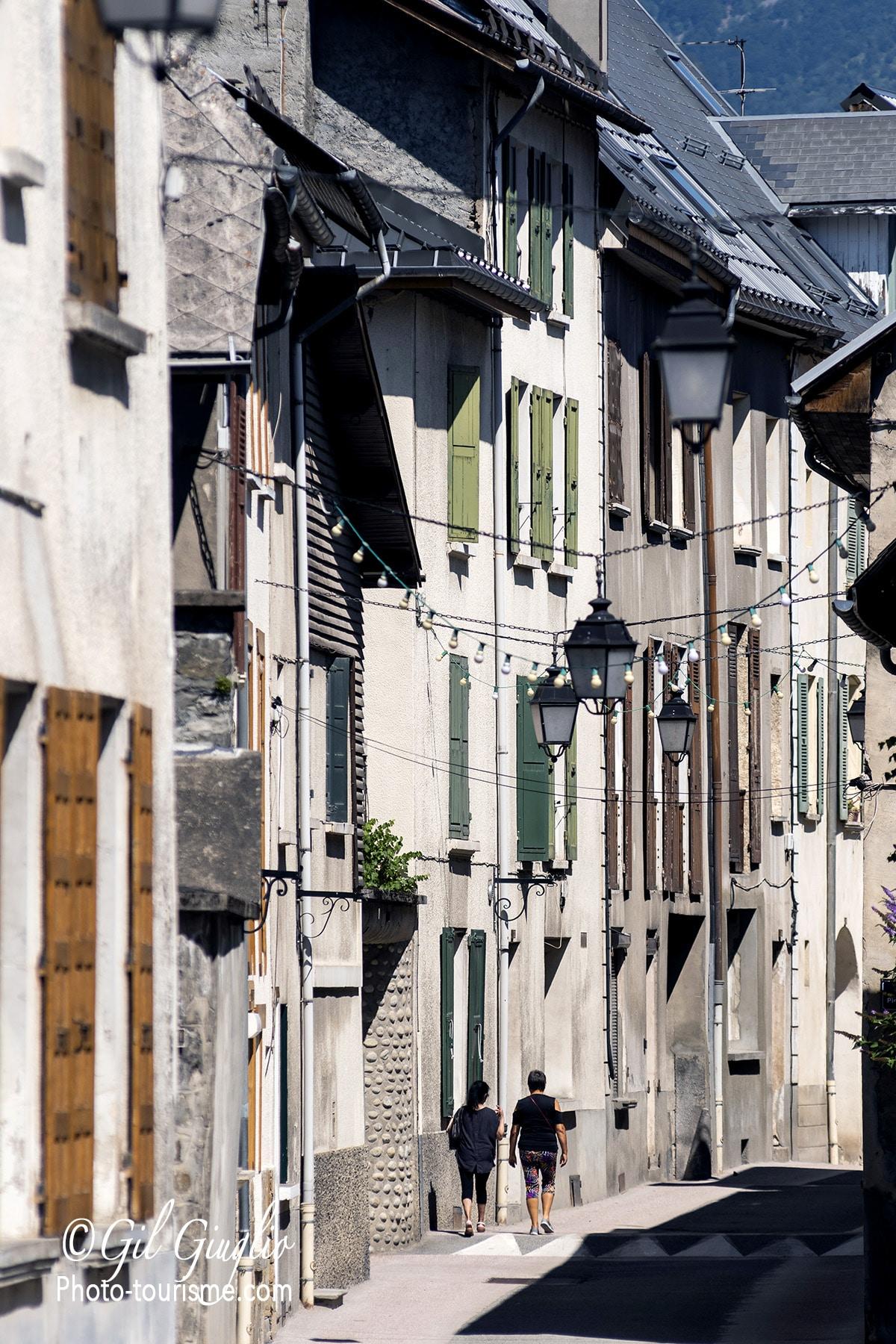 Une rue de Bourg d'Oisans
