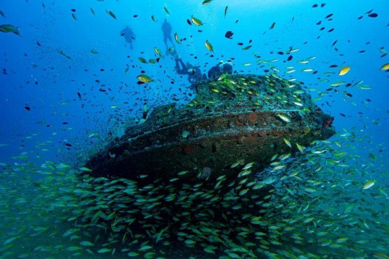 plongée sous-marine au Sri Lanka