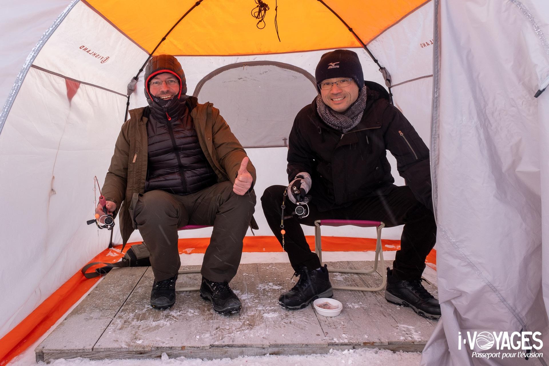 pêche, lac Akan