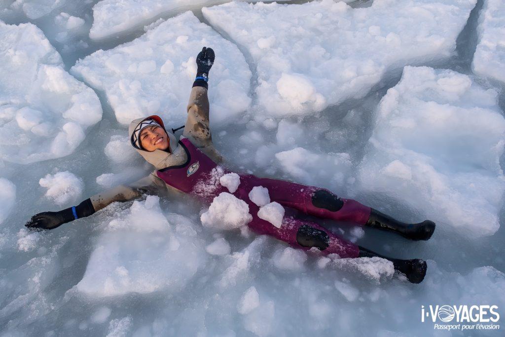 Drif ice Okkaido